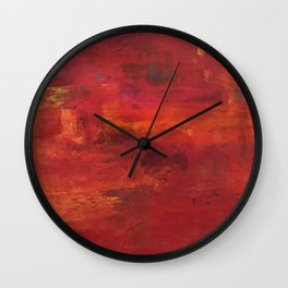 Hold my hand in your Heart Wall Clock