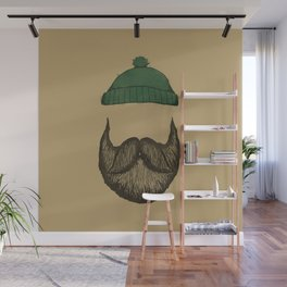 The Logger Wall Mural
