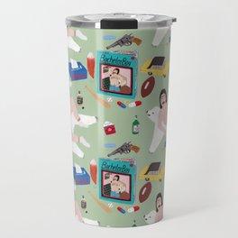 Sexy Bachelor Pattern Travel Mug