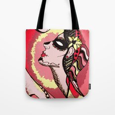 Shake It Off - Red Tote Bag