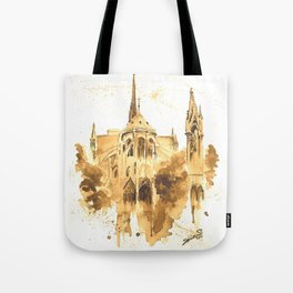 Gothic Notre Dame Tote Bag