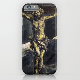 Crucified iPhone Case