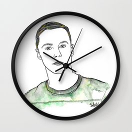 Sheldon Cooper Wall Clock
