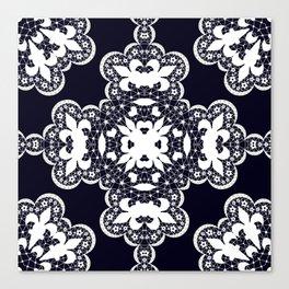 White lace 2 Canvas Print