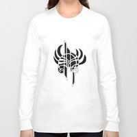 angel Long Sleeve T-shirts featuring Angel by Abundance