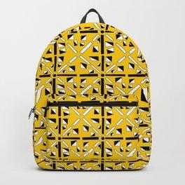 symetric patterns 89-mandala,geometric,rosace,harmony,star,symmetry Backpack