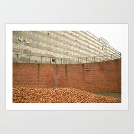 The Heygate Estate (1) Art Print