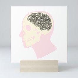MESS UP MY MIND Mini Art Print