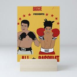 Ali vs. Basquiat: The Fight of the Century Mini Art Print