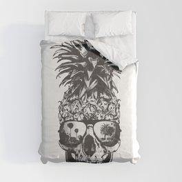 Pineapple Skull Head Comforters