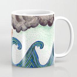Noahs Ark on Stormy Sea Coffee Mug