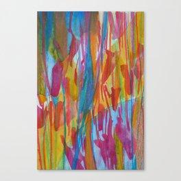Petal Play Canvas Print