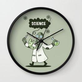 Science Guy Wall Clock