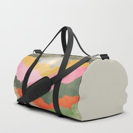 Colorful mountains Duffle Bag