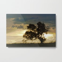 """Monsoon Sunset 2"" by Murray Bolesta Metal Print"
