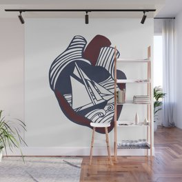 The Seas of the Heart Wall Mural
