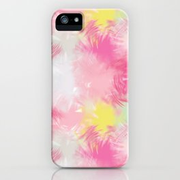 Blurred Blend - Pink iPhone Case