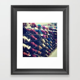 Shoes Matter Framed Art Print