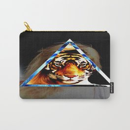 Girl behind the Tiger Carry-All Pouch