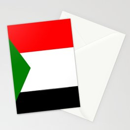 flag of sudan 2 -sudan,السودان‎ ,sudanese,nubia,khartoum,omdurman Stationery Cards