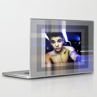 justin timberlake Laptop & iPad Skins featuring justin by Kathead Tarot/David Rivera