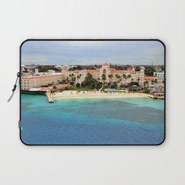 Spa town Bahamas Coast Berth Houses Cities Resorts Pier Marinas Building Laptop Sleeve