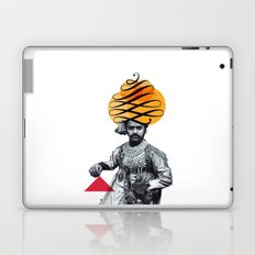 Lettering is a Maharaja's turban Laptop & iPad Skin