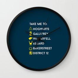 Take me to:  Wall Clock