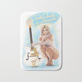 Guitar Girl 04 Bath Mat