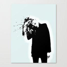 My head is jungle Canvas Print
