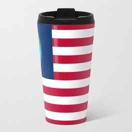Old Freebie - Earth's Flag Travel Mug