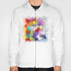 abstract brush Hoody