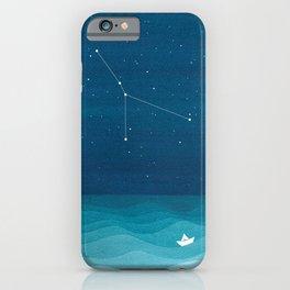 Cancer zodiac constellation iPhone Case