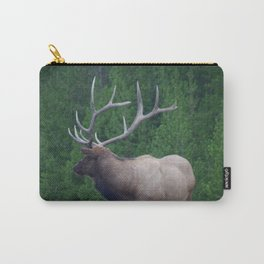Male Elk in Yellowstone Carry-All Pouch