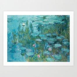 Monet - Water Lilies Art Print