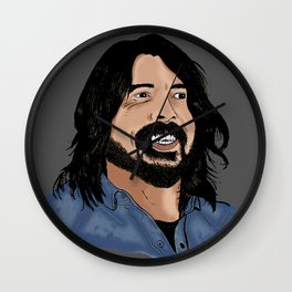 Dave Grohl - Fan Art Wall Clock