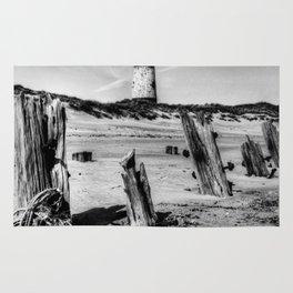 Spurn Point Lighthouse and Groynes Rug