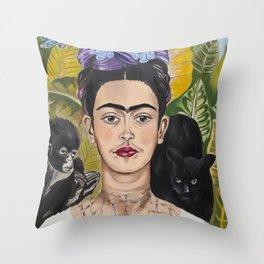 Permanent Throw Pillow