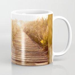 boardwalk and morass grass Coffee Mug