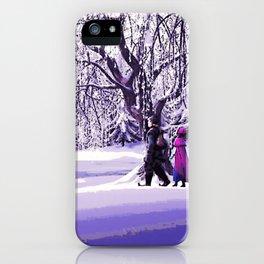 Frozen - Kristoff and Anna iPhone Case