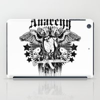 sons of anarchy iPad Cases featuring Anarchy by Tshirt-Factory