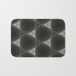 Triangles of Light Bath Mat