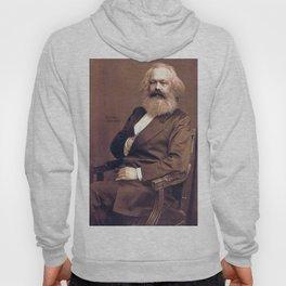 Portrait of Karl Marx by John Jabez Edwin Mayal Hoody