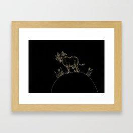 Kuh Framed Art Print
