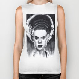 Bride of Frankenstein Biker Tank