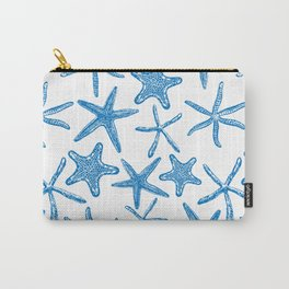 Sea stars in blue Carry-All Pouch