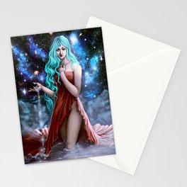 Space Goddess Stationery Cards