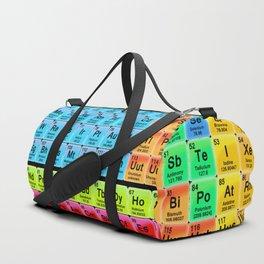 Periodic Table Mendeleev Duffle Bag