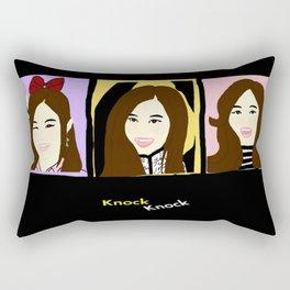 Knock Knock! Tzuyu Version Rectangular Pillow