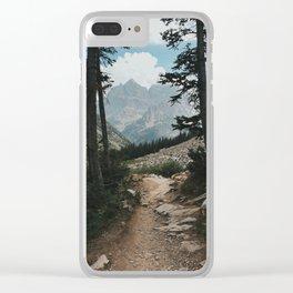 Grand Teton Way Clear iPhone Case